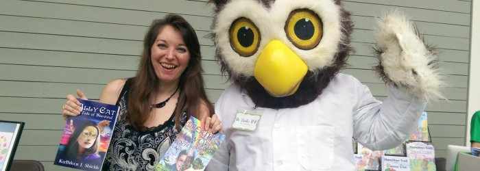 Having a Hoot at Book Festivals